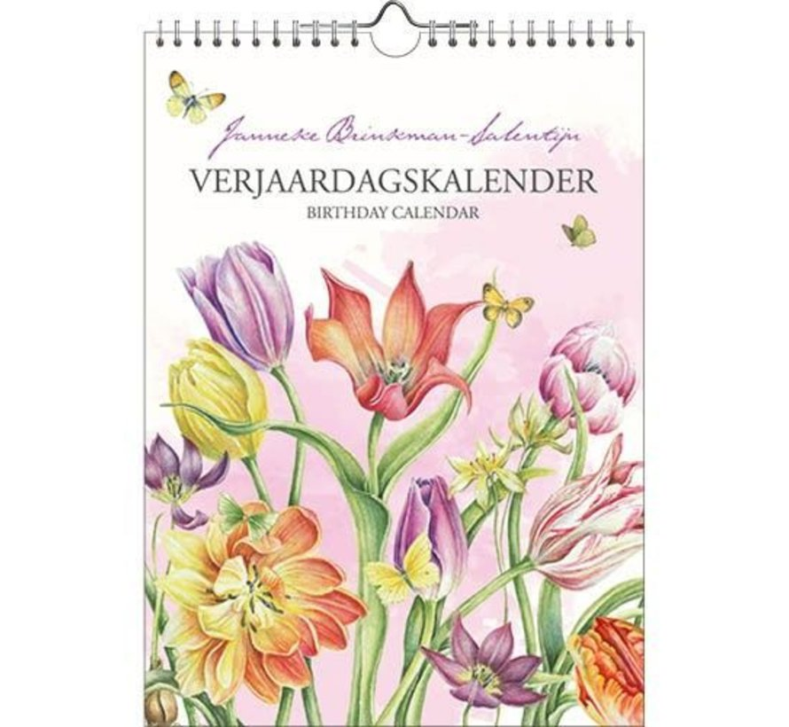Janneke Brinkman Verjaardagskalender Tulpen