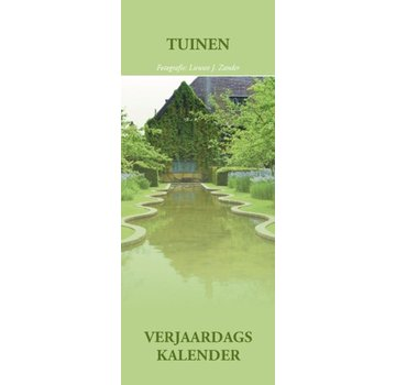 Inter-Stat Tuinen Verjaardagskalender