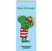Inter-Stat Kikker en Vriendjes Verjaardagskalender