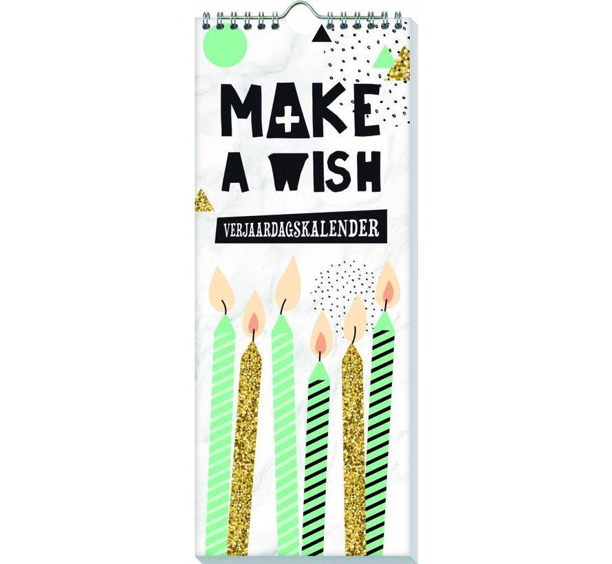 Make a Wish Verjaardagskalender