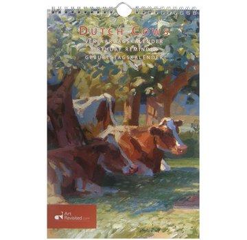 Comello Dutch Cows Birthday Calendar
