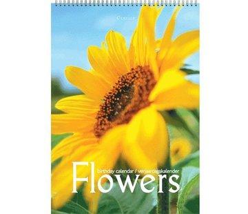 Comello Flowers Verjaardagskalender A4