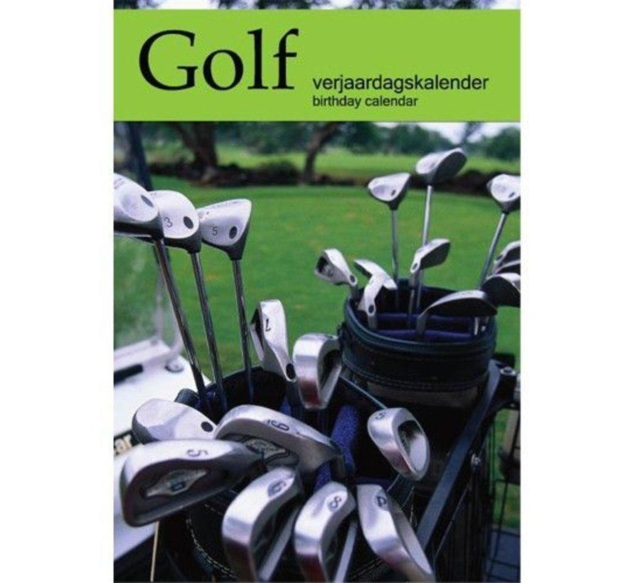 Golf Verjaardagskalender