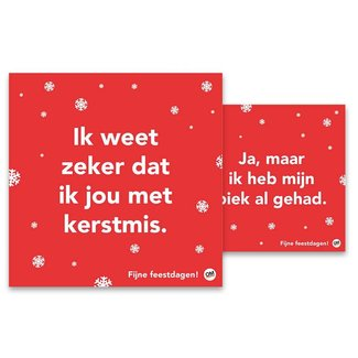 Comello change in thinking Christmas cards