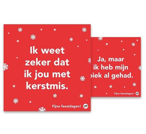 Comello Omdenken Kerstkaarten