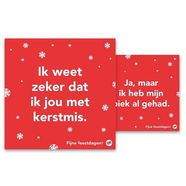 ändern Weihnachtskarten im Denken