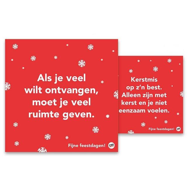 Comello ändern Weihnachtskarten im Denken