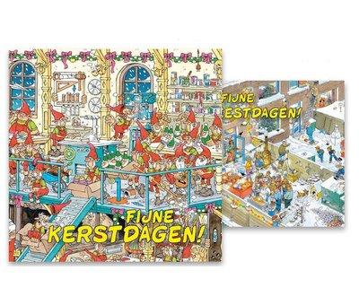 Comello Jan van Haasteren Kerstkaarten