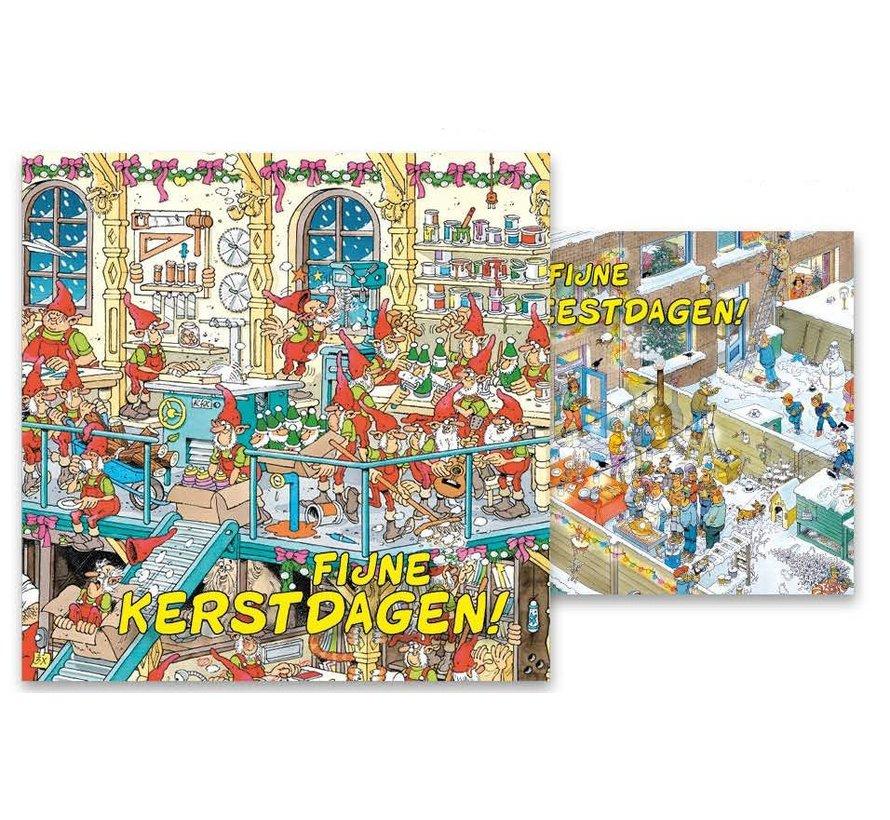 Jan van Haasteren Kerstkaarten