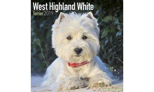 West Highland White Terrier Kalenders 2019