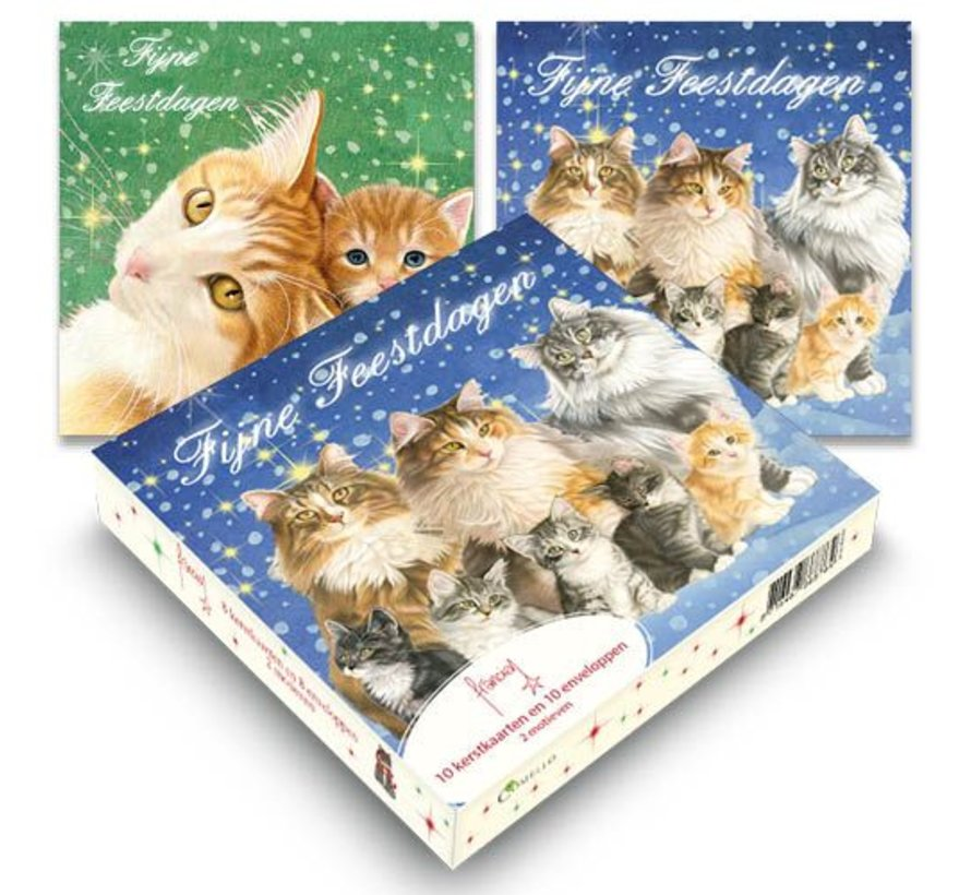 Franciens Katten Kerstkaarten