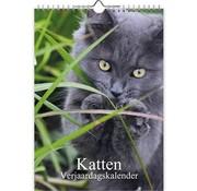 Comello Katten foto verjaardagskalender A4