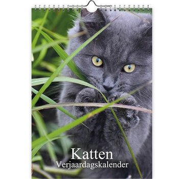 Comello Cats photo birthday calendar A4