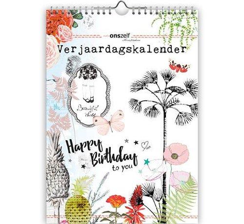 Comello Studio Onszelf Verjaardagskalender A4