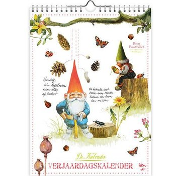 Comello Rien Poortvliet Kabouter Verjaardagskalender