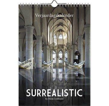 Comello Surrealistic by Henk Griffioen Birthday Calendar A4