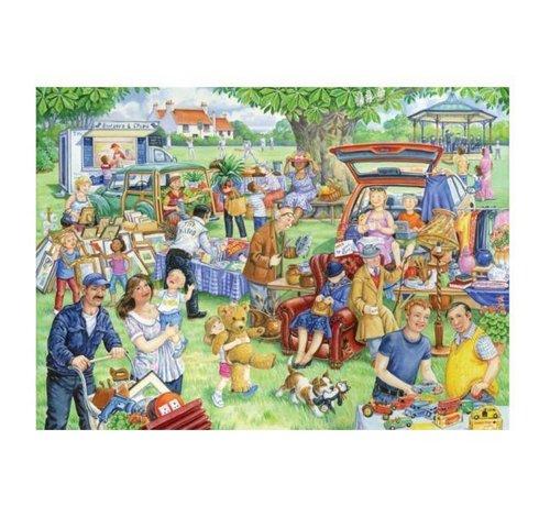 The House of Puzzles Car Boot Sale Puzzel 1000 Stukjes