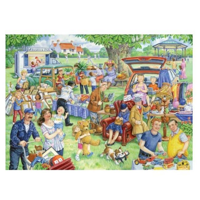 Auto-Boot-Verkauf 1000 Puzzleteile