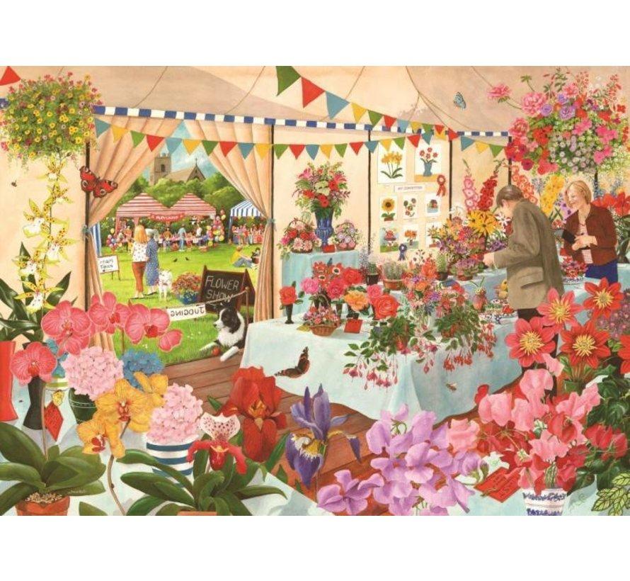 Puzzle Pieces Flower Show 1000