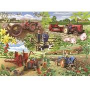 The House of Puzzles Farming Year Puzzel 1000 Stukjes
