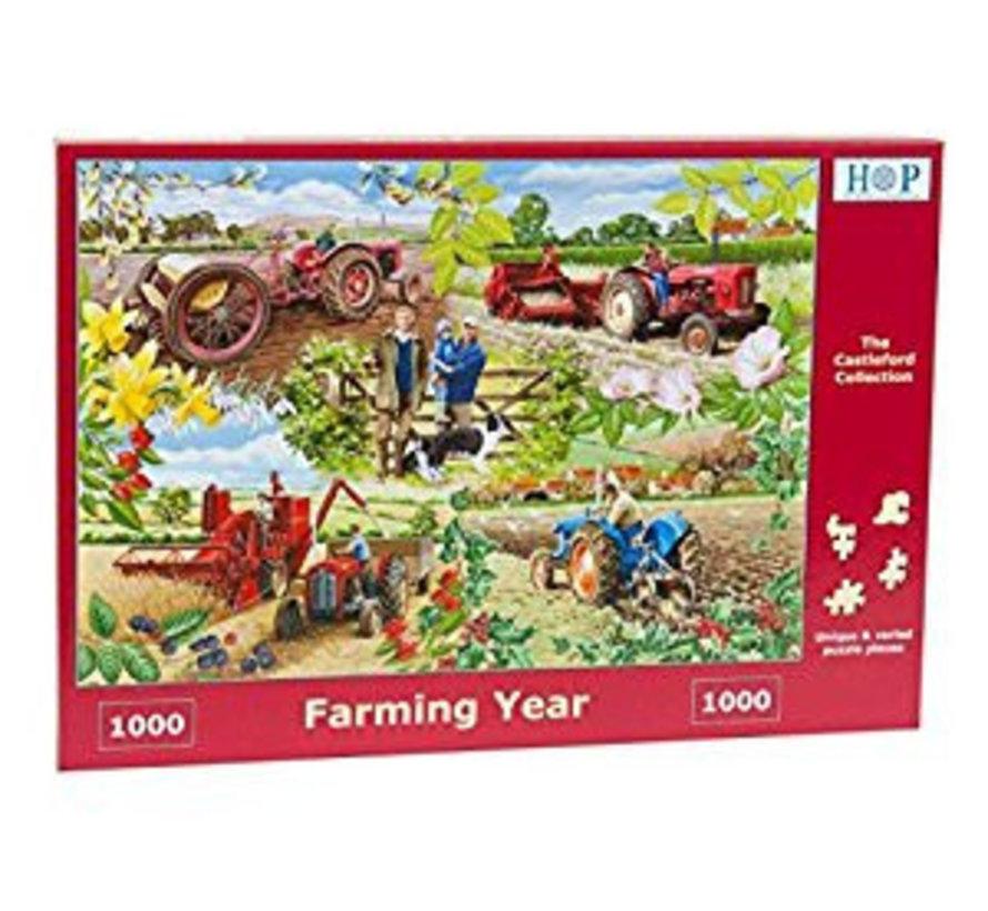 Année agricole 1000 Puzzle Pieces