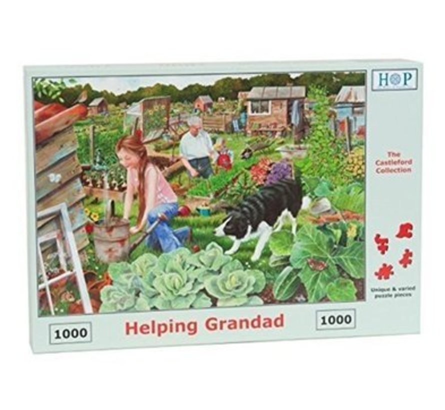 Helping Grandad Puzzel 1000 Stukjes