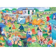 The House of Puzzles Holiday Havoc Puzzel 1000 Stukjes