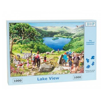 The House of Puzzles Lake View Puzzel 1000 Stukjes