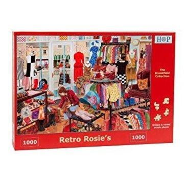 The House of Puzzles Retro Rosie's Puzzel 1000 Stukjes