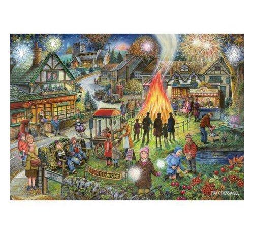 The House of Puzzles Autumn Green Puzzel 1000 Stukjes