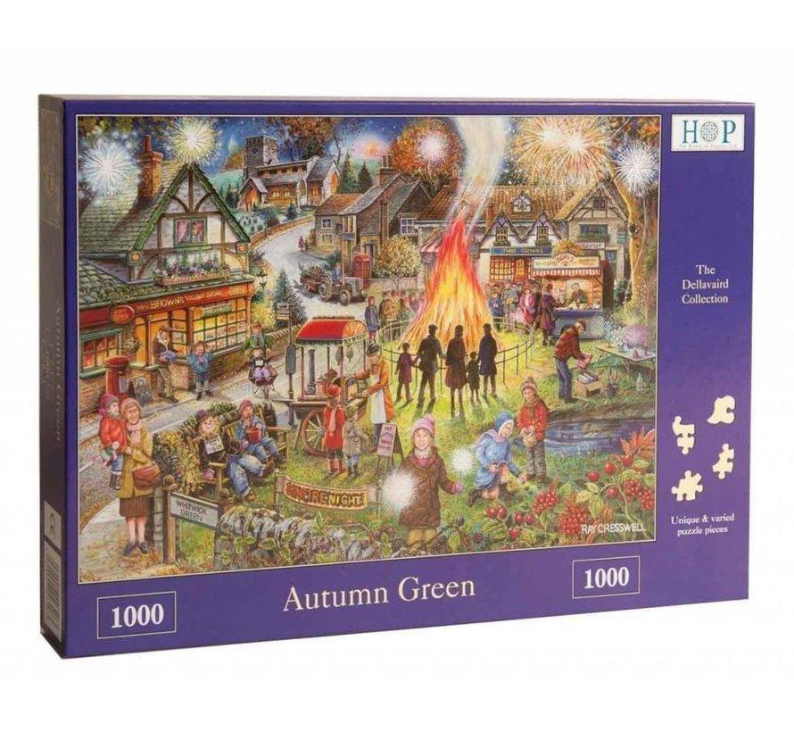 Autumn Green Puzzel 1000 Stukjes