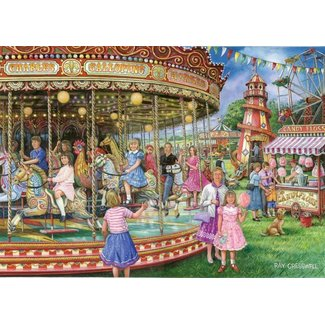 The House of Puzzles Gallopers 1000 Puzzle Pieces