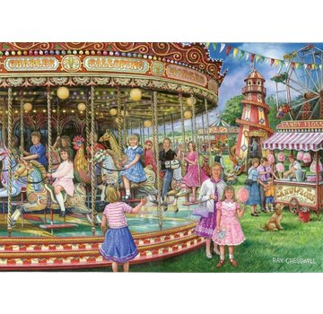 The House of Puzzles Gallopers Puzzel 1000 Stukjes