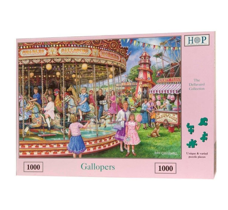 Gallopers Puzzel 1000 Stukjes