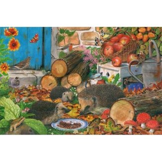 The House of Puzzles Garden Helpers 1000 Puzzle Pieces