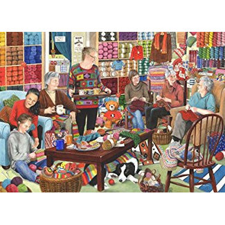 The House of Puzzles Tricot et Natter 1000 Puzzle Pieces