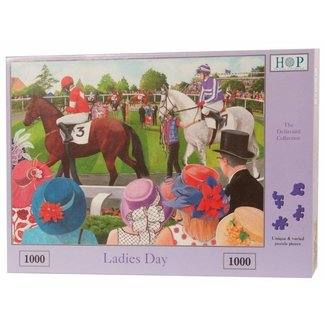 The House of Puzzles Ladies Day 1000 Puzzle Pieces
