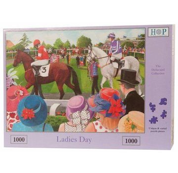 The House of Puzzles Ladies Day Puzzel 1000 Stukjes