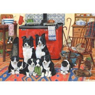 The House of Puzzles Meet the Family Puzzel 1000 Stukjes