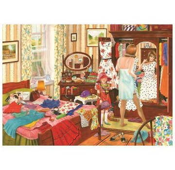 The House of Puzzles Nothing to Wear Puzzle 1000 Pieces
