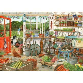 The House of Puzzles Potting Shed 1000 Puzzle Pieces