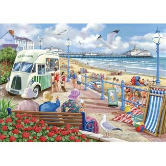 The House of Puzzles Sun Sea and Sand 1000 Puzzle Pieces