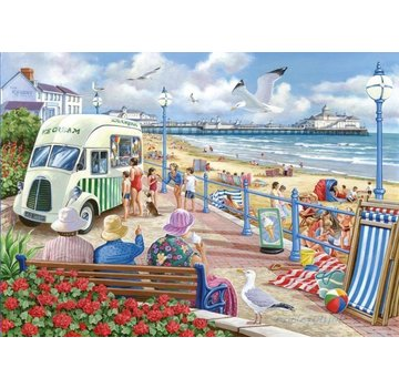 The House of Puzzles Sun Sea and Sand 1000 Puzzleteile