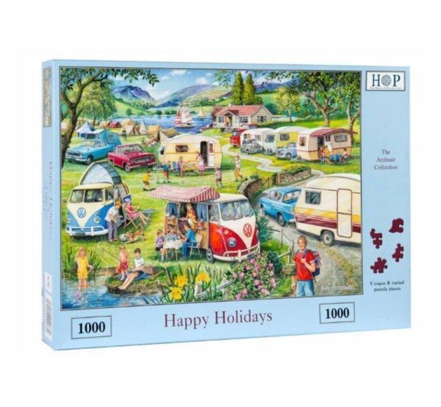 Happy Holidays Puzzel 1000 Stukjes