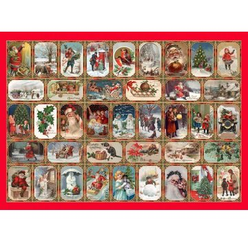 The House of Puzzles Season's Greetings 1000 Puzzle Pieces