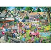 The House of Puzzles Summer Green Puzzel 1000 Stukjes