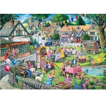 The House of Puzzles Été 1000 Pièces Puzzle vert