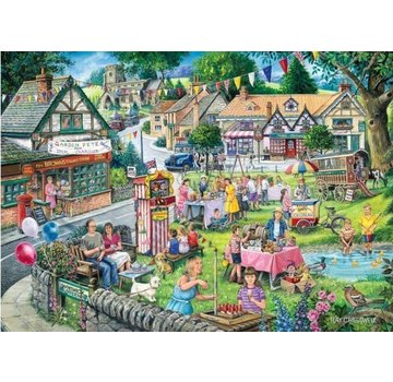 The House of Puzzles Summer Green Puzzel 1000 Stukjes