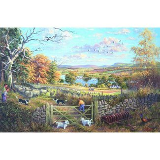 The House of Puzzles Counting Sheep Puzzel 1000 Stukjes