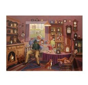 The House of Puzzles Grandfather Time Puzzel 1000 Stukjes